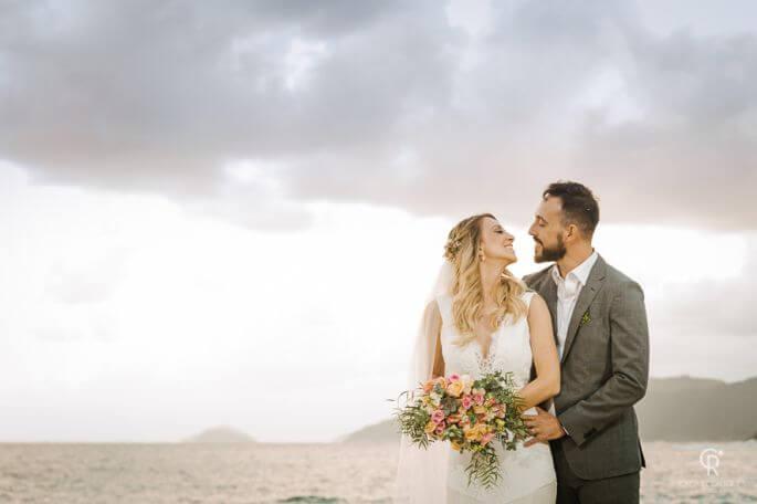 Casamento na Praia de Thais e Rodrigo