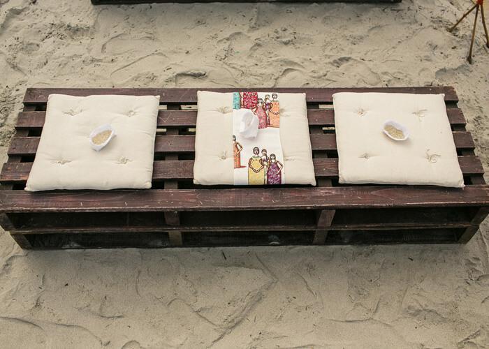 Cerimônia Celta na Praia - Suh e Marilia